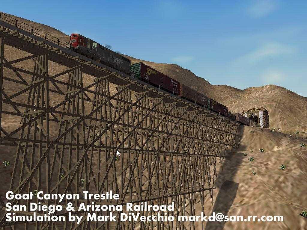 Map Of Arizona Railroads.San Diego Arizona Railway