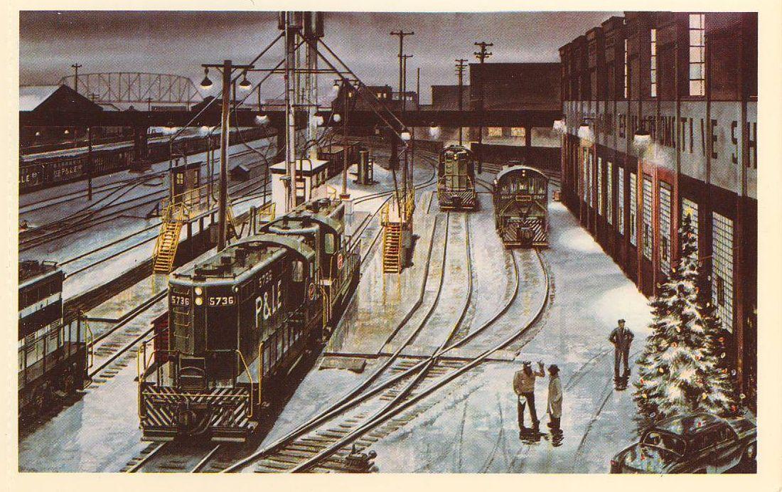 P&LE Postcards by Howard Fogg