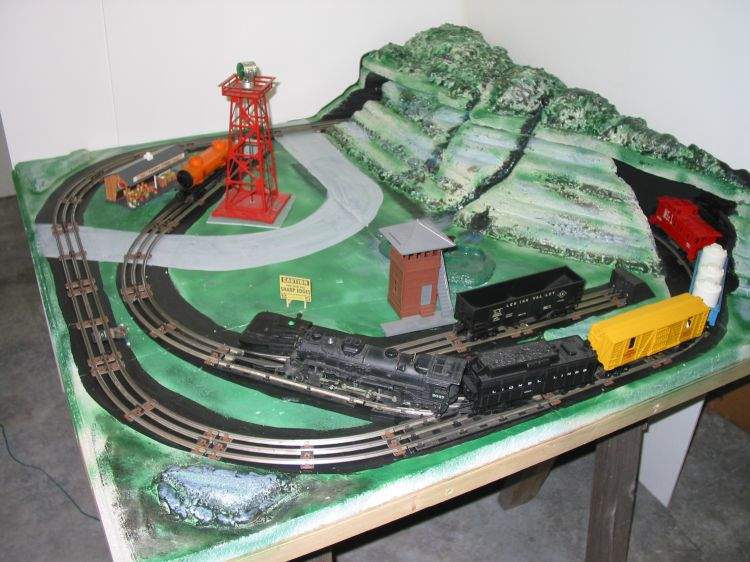 Image Gallery Lionel Train Layout Boards