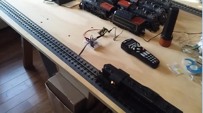 Train Detection using PN532 RFID Modules